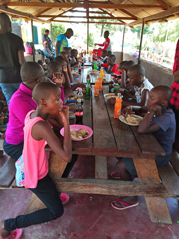 Photo: An Easter Treat for Kenyan Orphans